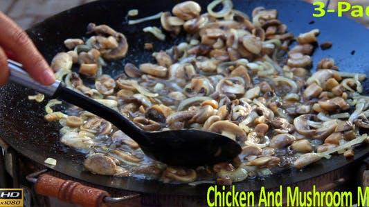 Chicken And Mushroom Meal