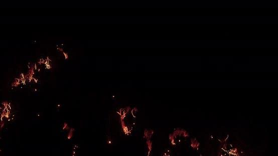 Thumbnail for Macro Shot Of Steel Wool Burning.