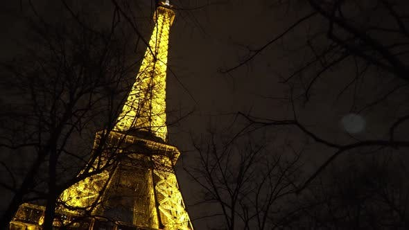Cover Image for Night View Of The Eiffel Tower, Paris 5
