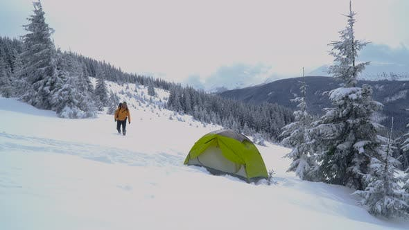 Cover Image for Winter Trip in the Mountains