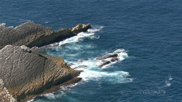 Thumbnail for Waves Breaking onto Rocks 827