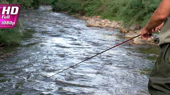 Thumbnail for Fishing on the Mountain River