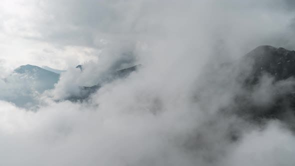 Thumbnail for Clouds in Mountains