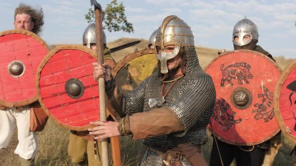 Thumbnail for Vikings with armor