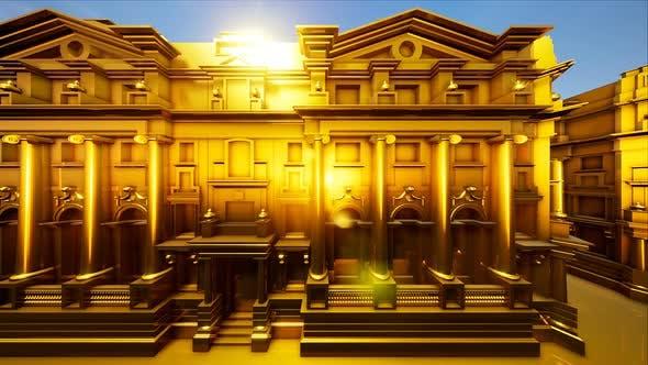 Thumbnail for Golden Bank Building 4k