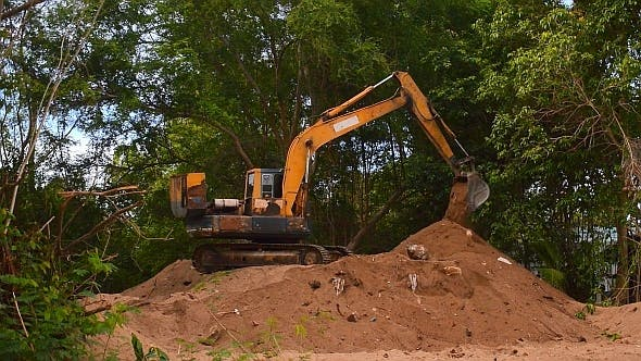 Thumbnail for Excavator Working