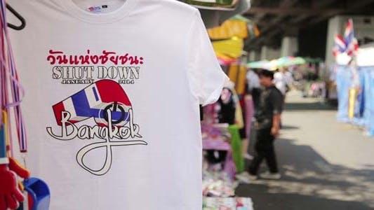 Thumbnail for Bangkok shutdown protests, thailand3