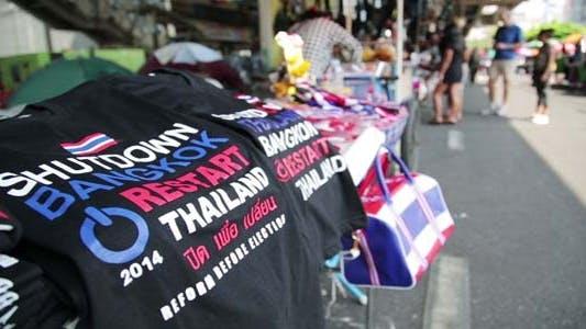 Thumbnail for Bangkok shutdown protests, thailand4