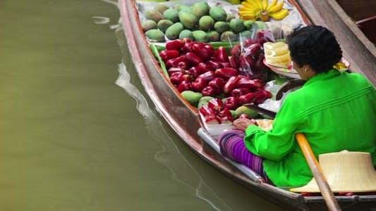 Thumbnail for Floating Market, Bangkok, Thailand 6
