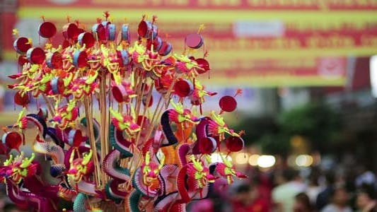 Thumbnail for Chinese New Year Celebration, Chinatown, Bangkok