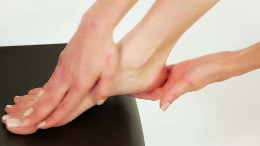 Thumbnail for Woman Using Foot Cream 2