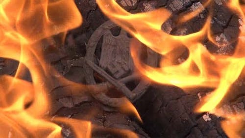 General Assault Badge In The Fire