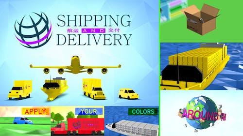 Versand, Transport und Lieferung