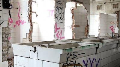 Deserted Toilet