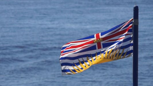 Thumbnail for British Columbia Flag On Water