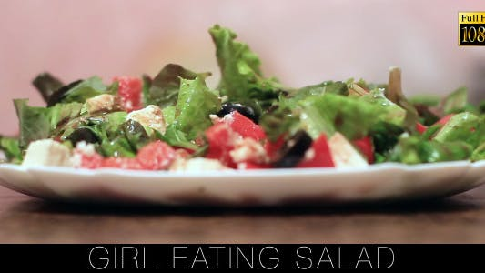 Cover Image for Girl Eating Salad 2