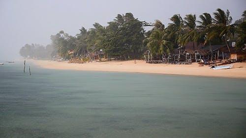 Stormy Tropical Beach