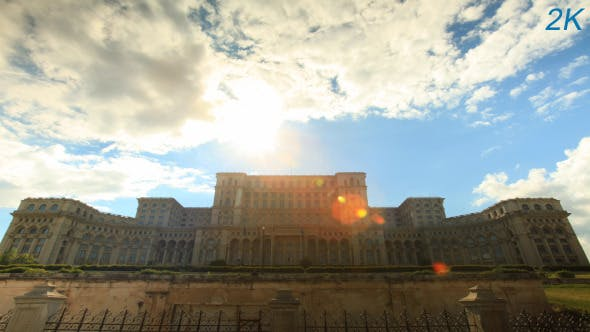 Thumbnail for Romanian Parliament House In Bucharest 5