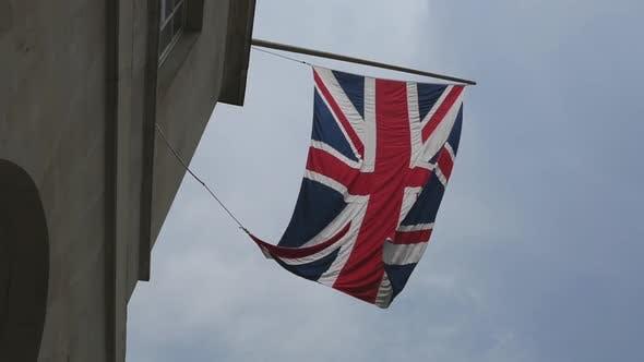 Thumbnail for UK Flag On Old Building Corner