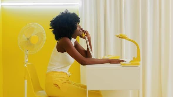 Black Woman Creative Office