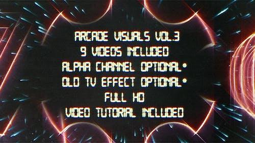 Retro Arcade-Grafik Vol.3