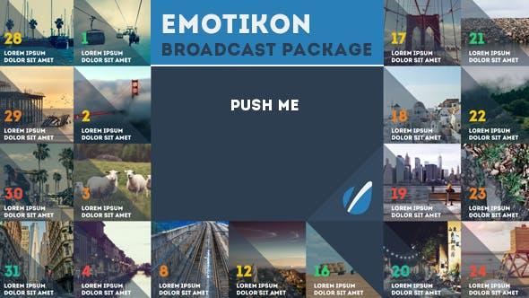 Emotikon - Broadcast Package