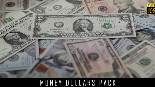 Money Dollars Pack 4
