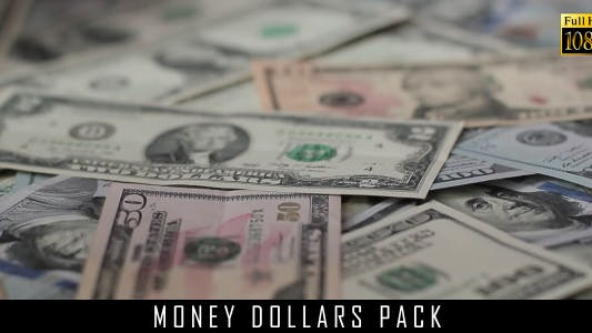 Money Dollars Pack 5