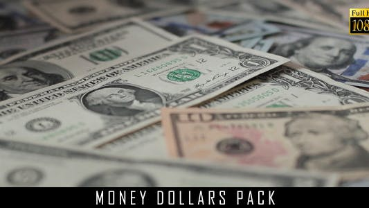 Money Dollars Pack 6