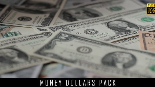 Money Dollars Pack 8