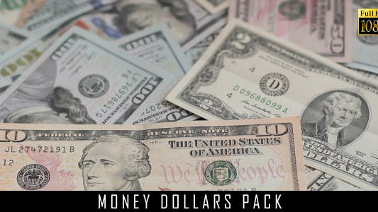 Cover Image for Money Dollars Pack 9