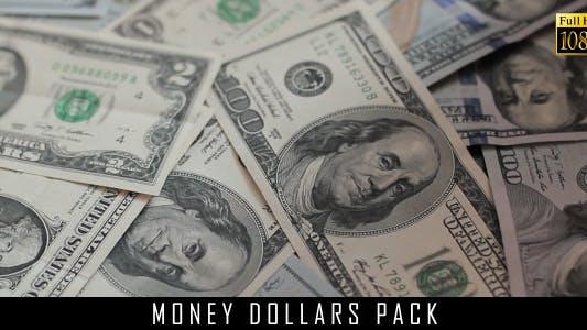 Money Dollars Pack 10
