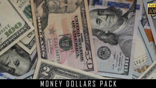 Money Dollars Pack 18
