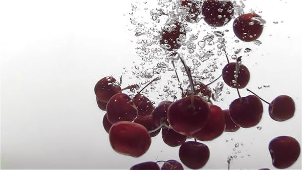 Thumbnail for Cherry Dropping In Water