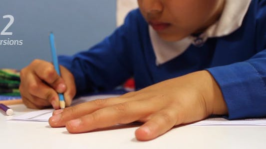Cover Image for Kid Writing