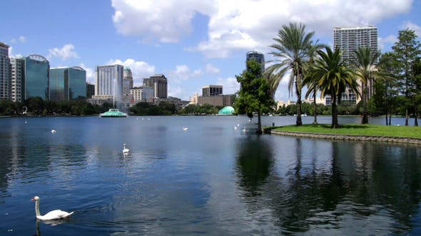 Thumbnail for Lake Eola Park Downtown Orlando Florida