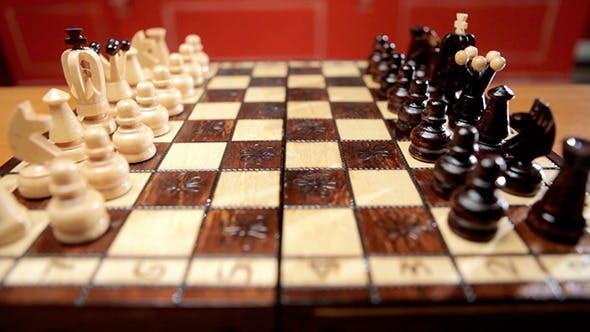 Chess Game At Start
