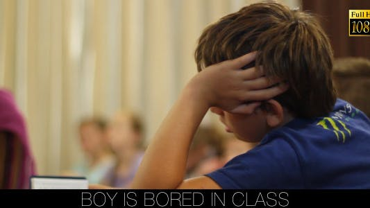 Thumbnail for Boy Is Bored In Class
