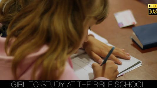 Thumbnail for Girl To Study At The Bible School