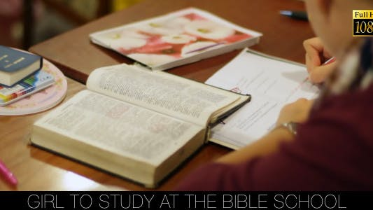 Cover Image for Girl To Study At The Bible School 2