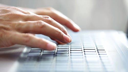 Hand Write on the Keyboard
