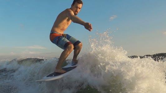 Thumbnail for Sunset Surfing