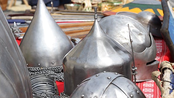 Thumbnail for Middle Age War Helmets