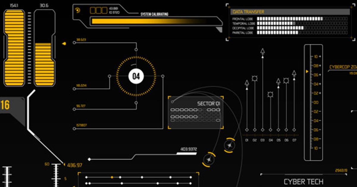 Download HUD Infographic Elements by PerryCox