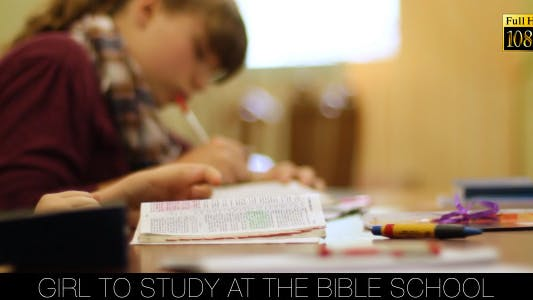 Cover Image for Girl To Study At The Bible School 3