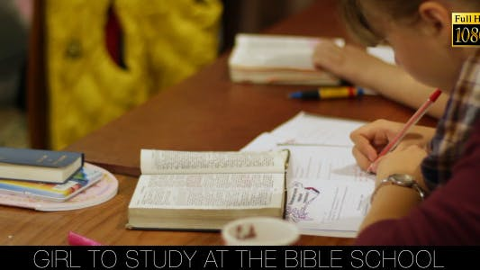 Cover Image for Girl To Study At The Bible School 4