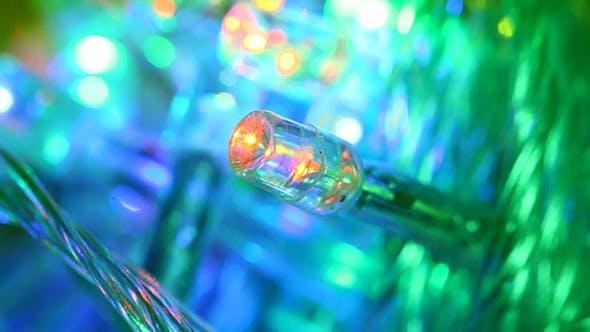 LED Bulbs Blinking 7