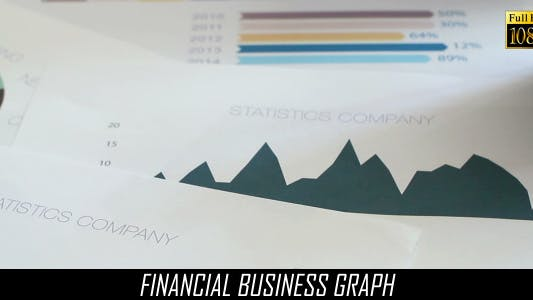 Cover Image for Financial Business Graph 3