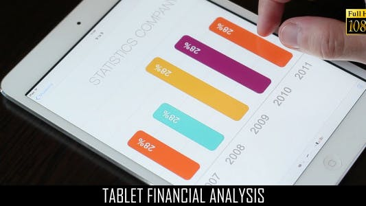 Cover Image for Tablet Financial Analysis 6