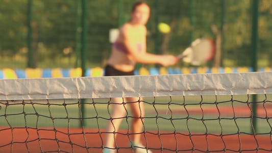 Thumbnail for Beautiful Girls Playing Tennis 10